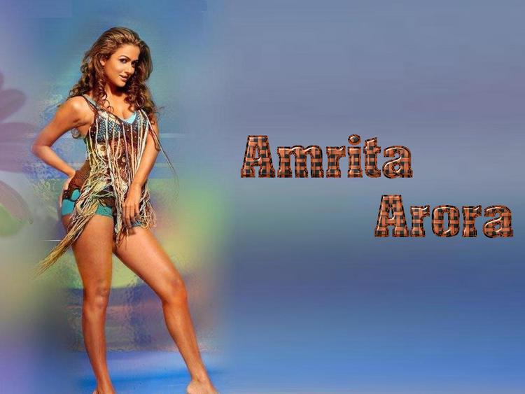 Amrita Arora Bold And Sexy Look Wallpaper