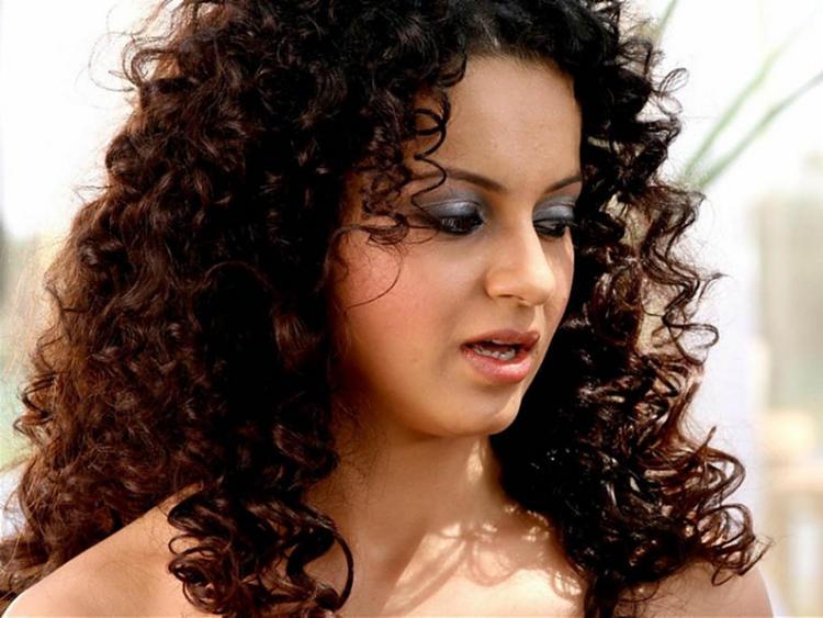 Curly Hair Beauty Kangana Ranaut Still