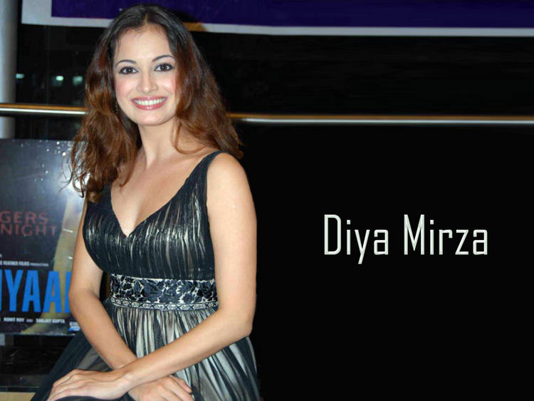 Diya Mirza Dazzling Look Wallpaper