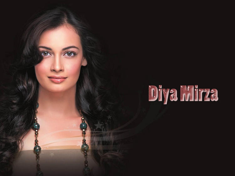 Diya Mirza Sizzling Hot Sexy Wallpaper