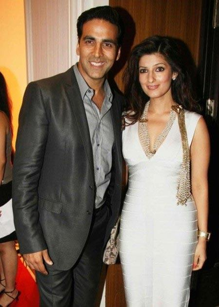 Akki and Twinkle Smiling Face Photo