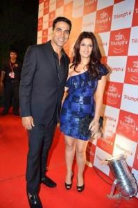 Akshay Kumar and Twinkle at The Triumph Fashion Show