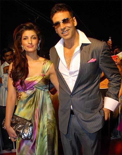 Beautiful Couple Akshay and Twinkle Khanna Still