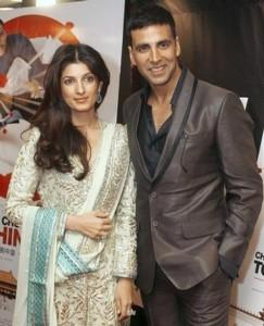 Twinkle Khanna and Akshay Poses To Photo Shoot