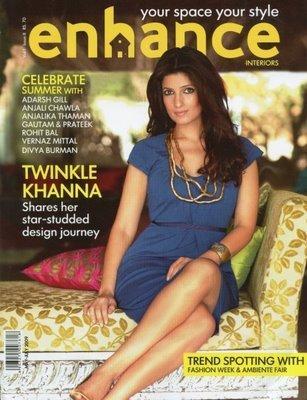 Twinkle Khanna Enhance Magazine Still