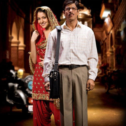 Anushka Sharma and SRK Latest Pic In Rab Ne Bana Di Jodi