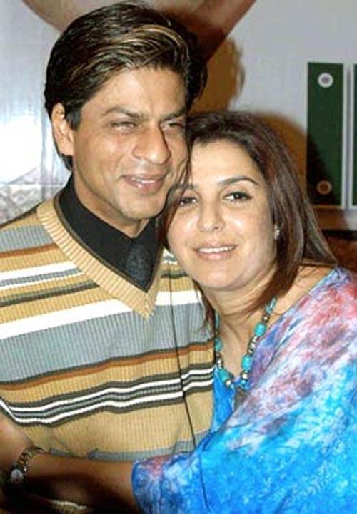 Shahrukh Khan and Farah Khan Latest Still