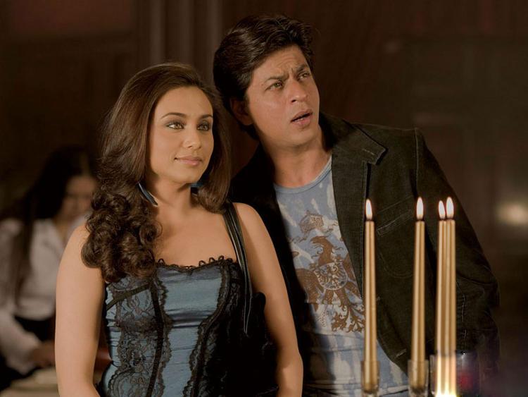 Shahrukh Khan and Rani Latest Film Pic