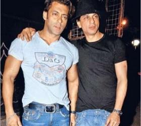 Shahrukh Khan and Salman Latest Still