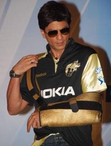 Shahrukh Khan Kolkata Knight Riders Dress Still