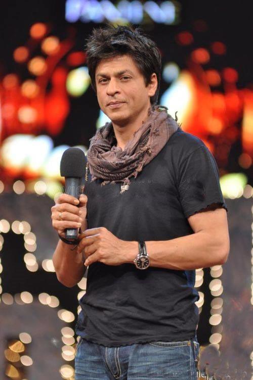 Shahrukh Khan Rock Hair Style Pic