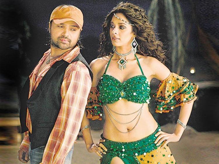 Himesh Reshammiya With Mallika Sherawat Dancing Pic