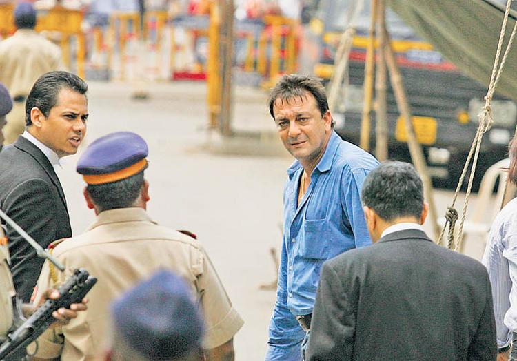 Sanjay Dutt in Court