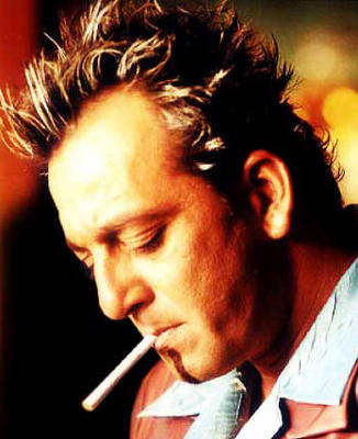 Sanjay Dutt Rock Hair Style Pic Smoking Cigarette
