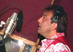 Sanjay Dutt Singing Photo