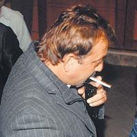 Sanjay Dutt Smoking Cigarette
