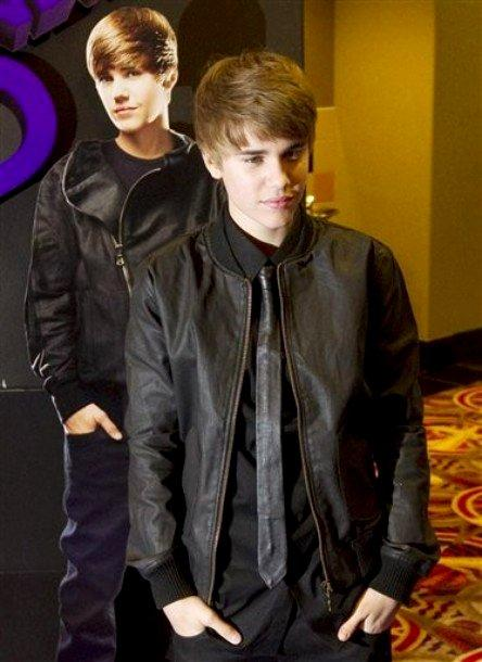 Justin Bieber Black Blazer Latest Still