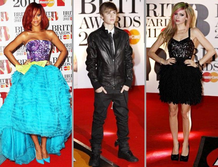 Justin Bieber at BRIT Awards