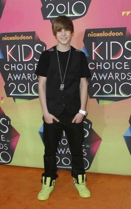 Justin Bieber at Kids Choice Awards