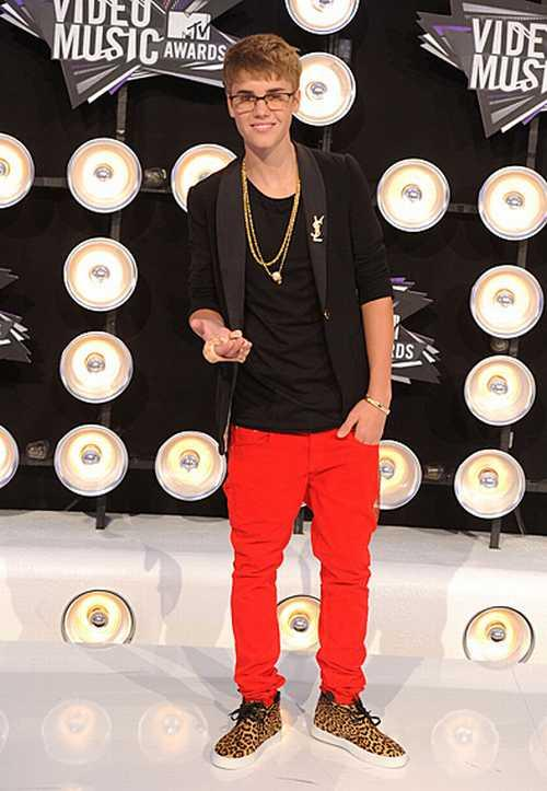 Justin Bieber at MTV Video Music Awards