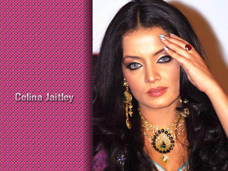 Celina Jaitley Awesome Face Look Wallpaper
