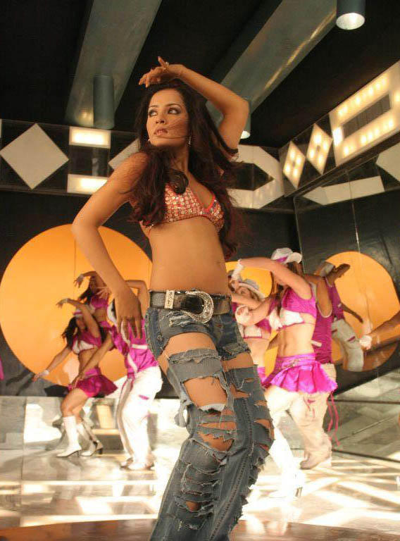 Celina Jaitley Hot Dance Still