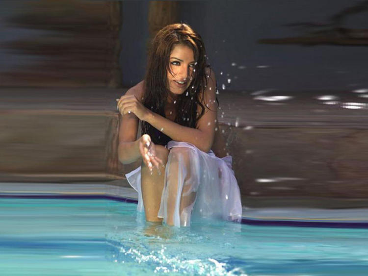 Celina Jaitley Latest Hot and Sexy Still