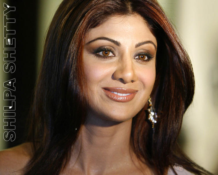 Shilpa Shetty Beauty Face Look Wallpaper