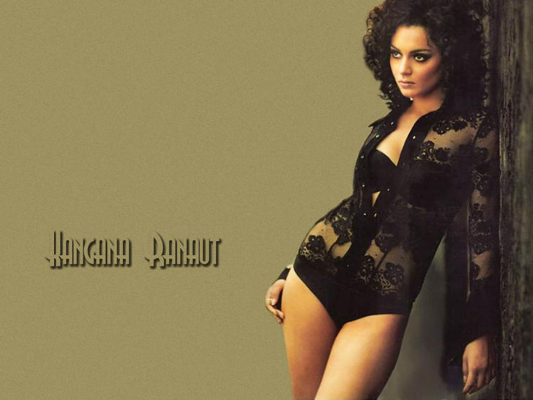 Kangana Ranaut Sexy And Hot Wallpaper