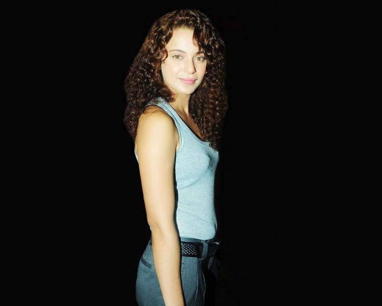 Kangana Ranaut Simple Look Pic