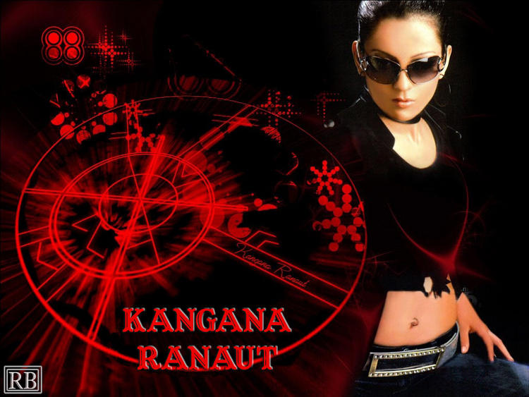 Kangana Ranaut Wearing Goggles Hot Look Wallpaper