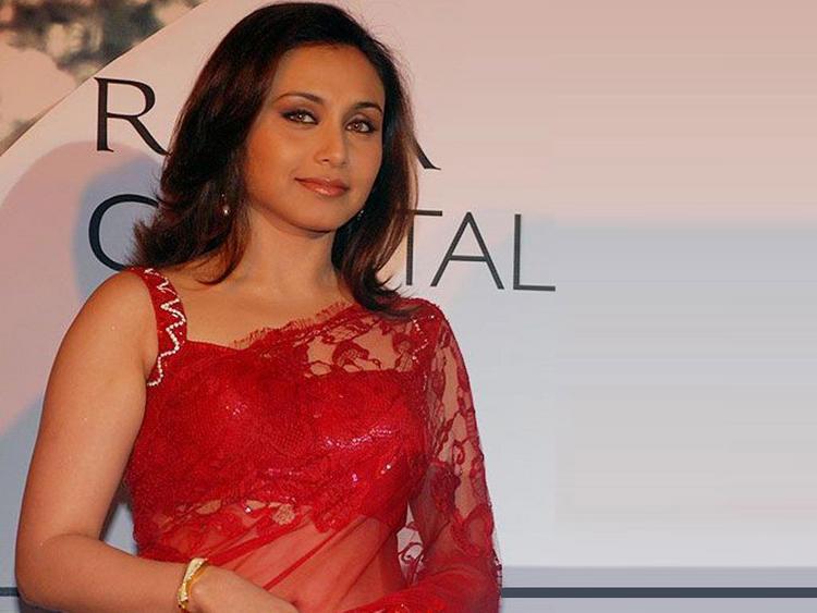 Rani mukherjee boob show