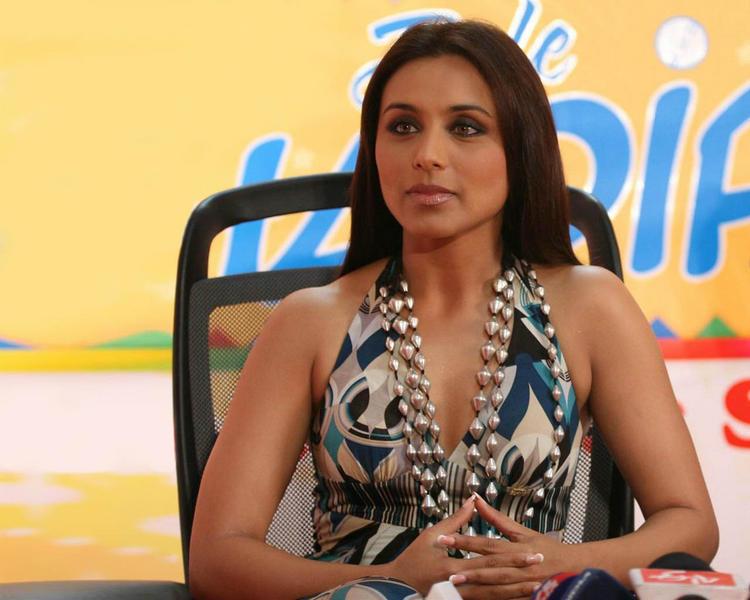 Rani Mukherjee at Dil Bole Hadippa Promo