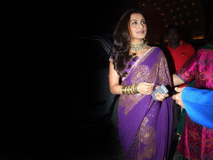 Rani Mukherjee In Gorgeous Saree