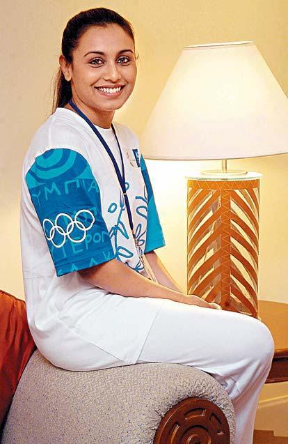 Rani Mukherjee at Olympics