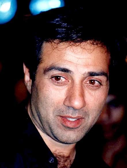 Sunny Deol Smiling Face Look Wallpaper