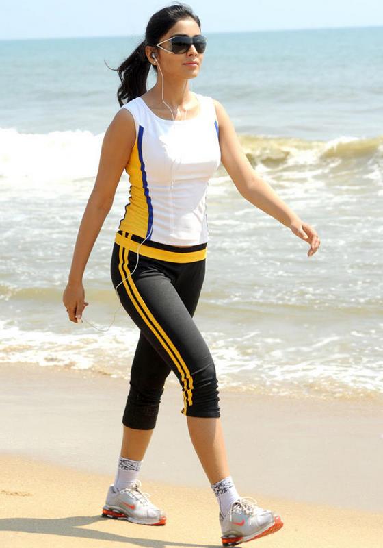 Shriya Saran Hot Photo Shoot On The Beach
