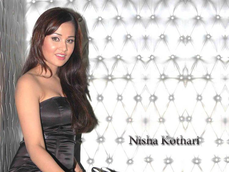 Bold Actress Nisha Kothari Wallpaper