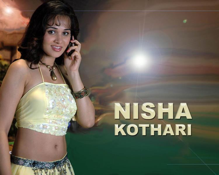 Cute Nisha Kothari Sweet Hot Wallpaper