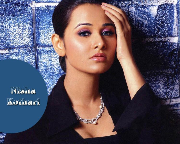 Nisha Kothari Glamour Face Look Wallpaper