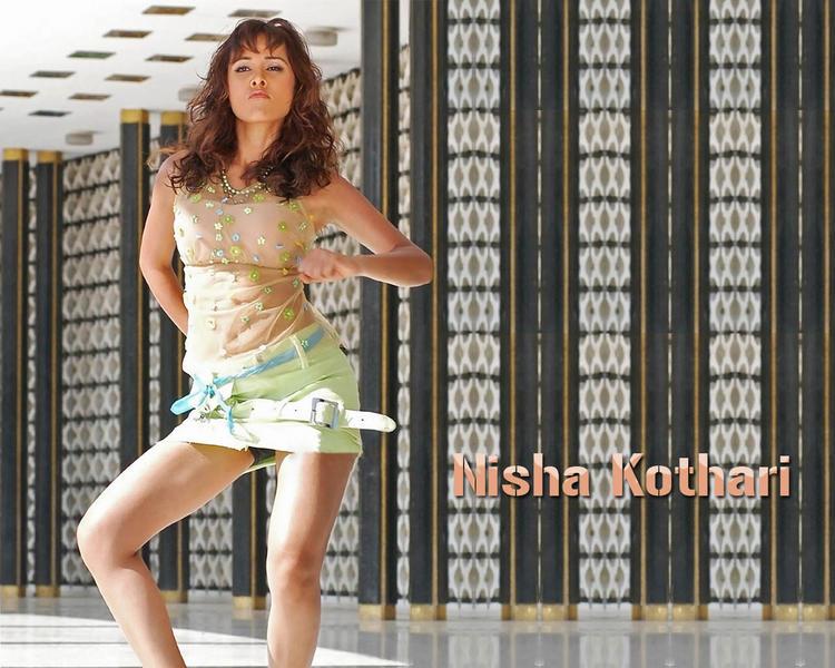 Nisha Kothari Sexy and Hot Wallpaper