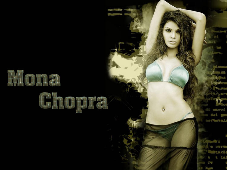 Mona Chopra Hot and Spicy Wallpaper