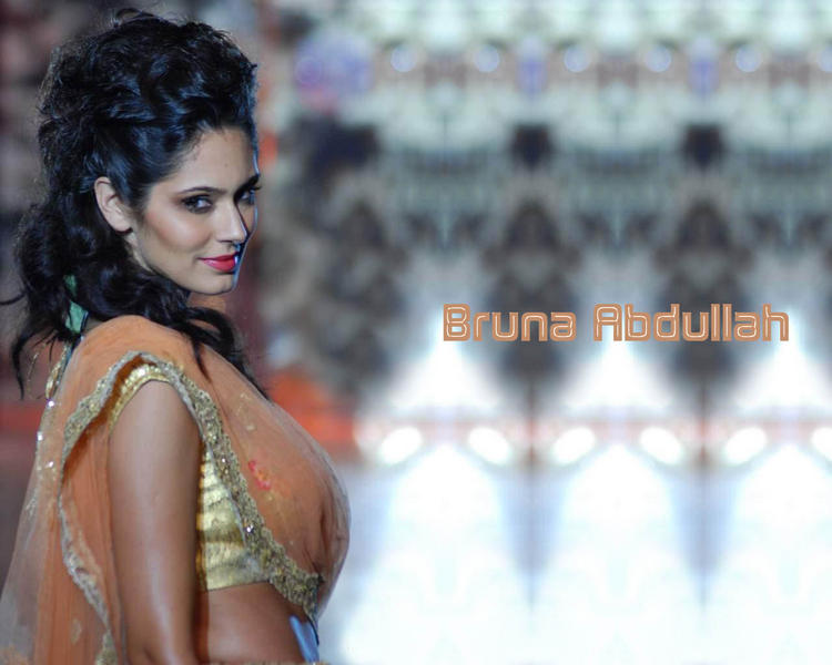 Brazilian Model Bruna Abdullah Wallpaper