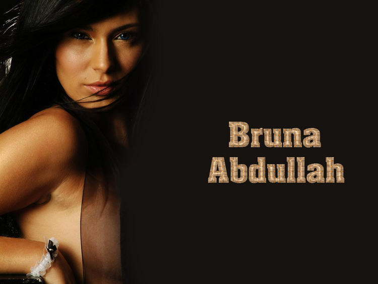 Hot Masala Actress Bruna Abdullah Wallpaper