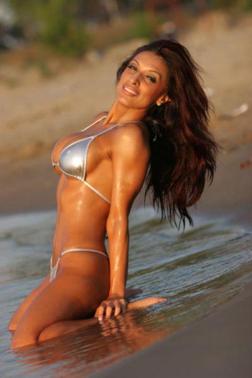 Amrit Dhaliwal Latest Bold Still In Bikini