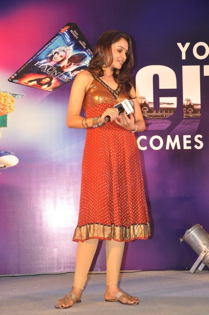 Andrea Jeremiah In Stage Show Program