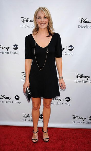 Andrea Anders Black Dress Latest Launch Picture