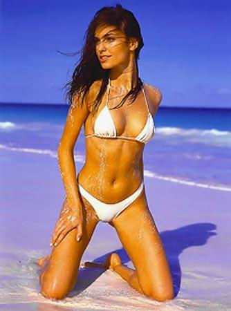Saira Mohan White Bikini Sexy Wallpaper