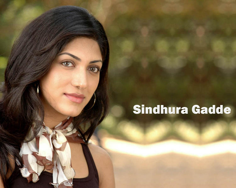 Sindhura Gadde Stunning Face Look Wallpaper