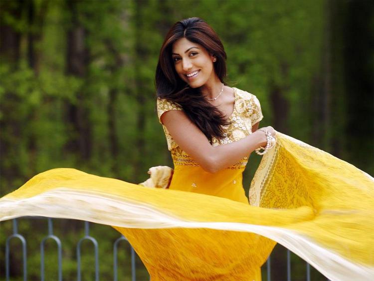 Sindhura Gadde Yellow Dress Hot Pics